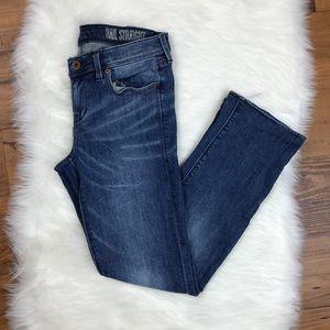 Madewell Rail Straight Jeans Medium Wash *HEMMED